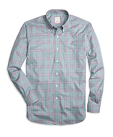 Golden Fleece® Madison Fit Glen Plaid Sport Shirt
