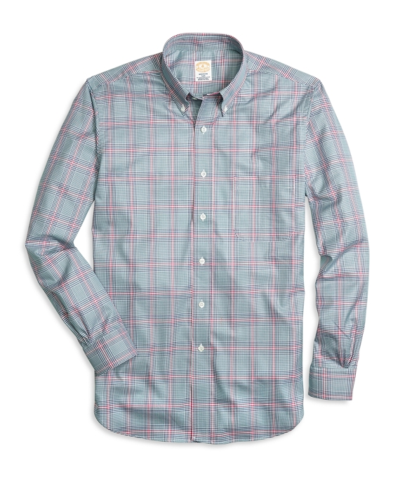 Golden Fleece® Regent Fit Glen Plaid Sport Shirt Multi