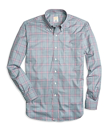 Golden Fleece® Regent Fit Glen Plaid Sport Shirt