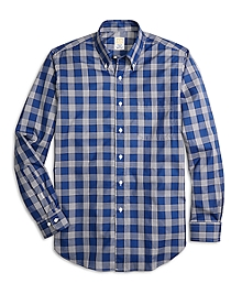 Golden Fleece® Regent Fit Windowpane Sport Shirt
