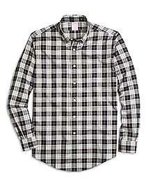 Non-Iron Madison Fit Aragon Tartan Sport Shirt