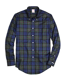 Non-Iron Madison Fit Baird Tartan Sport Shirt