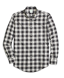 Non-Iron Milano Fit Aragon Tartan Sport Shirt