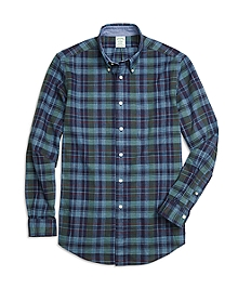 Milano Fit Plaid Sport Shirt