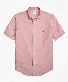 Non-Iron Regent Fit Short-Sleeve Oxford Sport Shirt