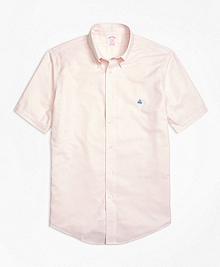 Non-Iron Madison Fit Short-Sleeve Oxford Sport Shirt
