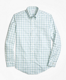 Non-Iron BrooksCool® Regent Fit Check Sport Shirt