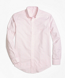 Non-Iron BrooksCool® Madison Fit Stripe Sport Shirt
