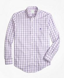 Non-Iron BrooksCool® Milano Fit Check Sport Shirt