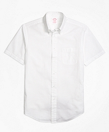 Madison Fit Seersucker Short-Sleeve Sport Shirt