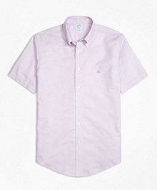 Non-Iron BrooksCool® Regent Fit Short-Sleeve Sport Shirt