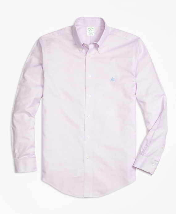 Non-Iron BrooksCool® Milano Fit Sport Shirt Lavender