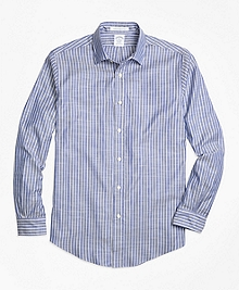 Regent Fit Stripe Sport Shirt