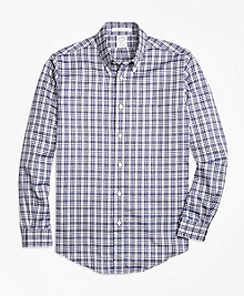 Regent Fit Plaid Sport Shirt