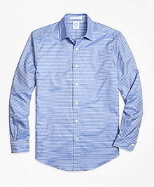 Regent fit Horizontal Stripe Sport Shirt