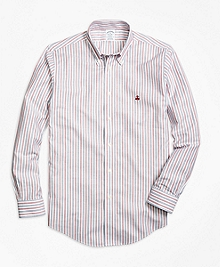 Non-Iron Regent Fit Vintage Stripe Sport Shirt