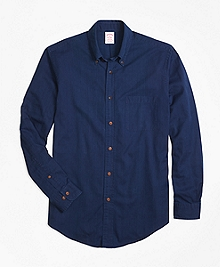 Madison Fit Indigo Dobby Sport Shirt
