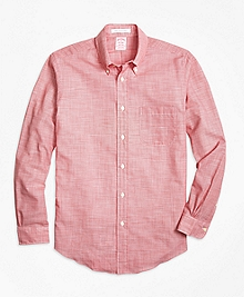 Madison Fit Houndstooth Sport Shirt