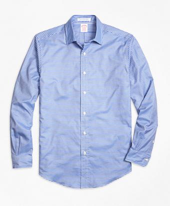 Madison Fit Horizontal Stripe Sport Shirt