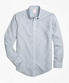 Non-Iron Madison Fit Mini Stripe Sport Shirt