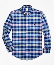 Non-Iron BrooksCool® Regent Fit Gingham Sport Shirt