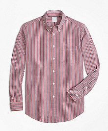 Regent Fit Check Seersucker Sport Shirt