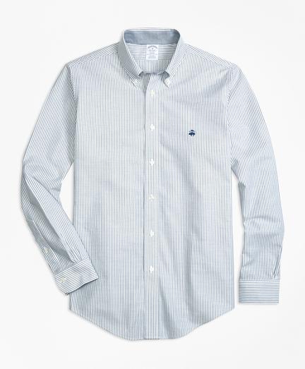 Non-Iron BrooksCool® Regent Fit Stripe 男士休闲衬衫
