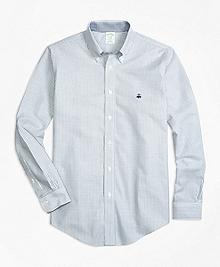 Non-Iron BrooksCool® Milano Fit Stripe Sport Shirt