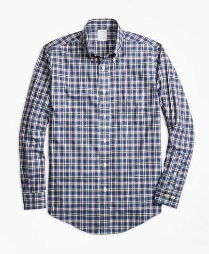Non-Iron Regent Fit Multi-Check Sport Shirt
