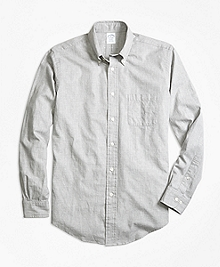 Regent Fit Heathered Dot Sport Shirt