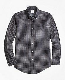 Regent Fit Printed Multi-Paisley Sport Shirt