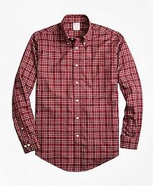 Non-Iron Madison Fit Herringbone Multi-Tattersall Sport Shirt