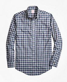 Non-Iron Madison Fit Multi-Check Sport Shirt