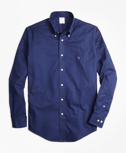 Non-Iron Regent Fit Warp Weft Oxford Sport Shirt