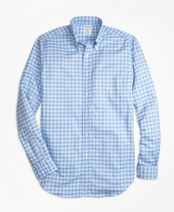 Regent Fit Oxford Check Sport Shirt