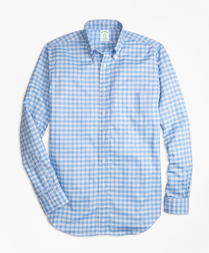 Milano Fit Oxford Check Sport Shirt