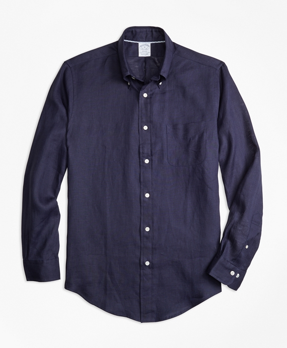 Regent Fit Irish Linen Sport Shirt