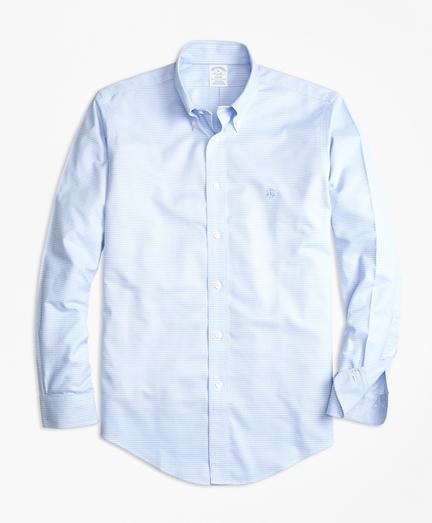 Non-Iron BrooksCool® Regent Fit Micro-Textured Sport Shirt