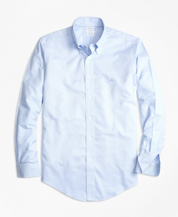 Non-Iron BrooksCool® Regent Fit Micro-Textured Sport Shirt