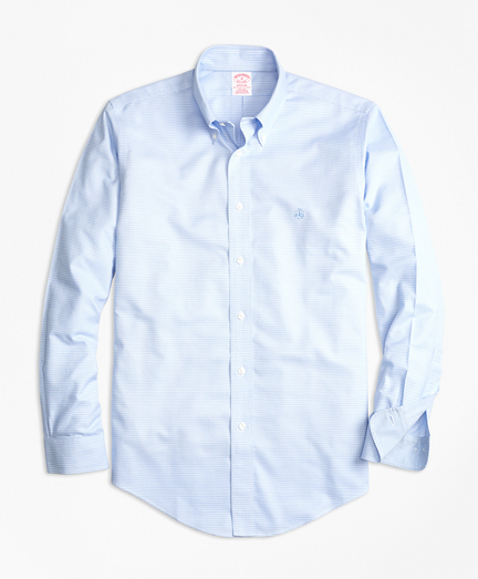 Non-Iron BrooksCool® Madison Fit Micro-Textured Sport Shirt