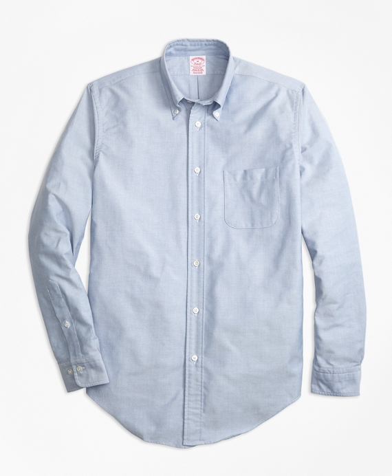 Madison Fit Oxford Sport Shirt Light Blue