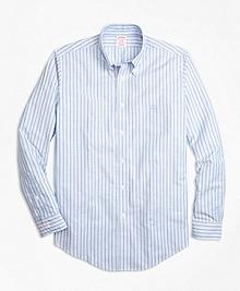 Non-Iron BrooksCool® Madison Fit Stripe Sport Shirt