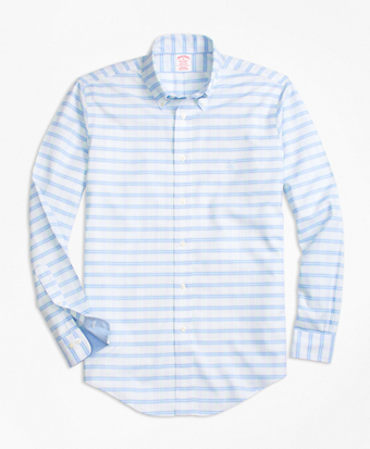 Non-Iron BrooksCool® Madison Fit BB#1 Check Sport Shirt
