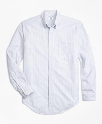 Regent Fit Oxford Bengal Stripe Sport Shirt