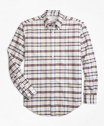 Regent Fit Oxford Tartan Sport Shirt