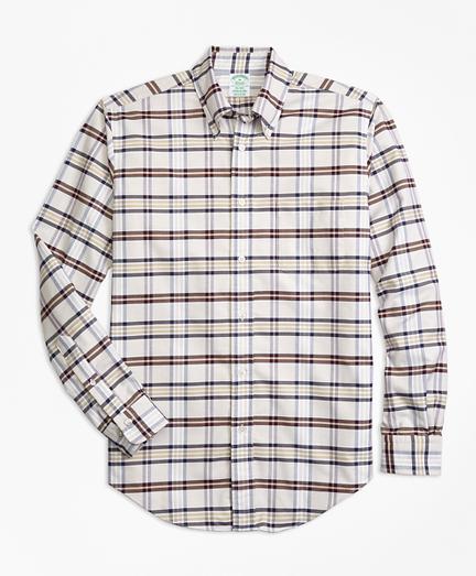 Milano Fit Oxford Tartan Sport Shirt