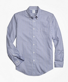 Non-Iron Regent Fit Bengal Stripe Sport Shirt