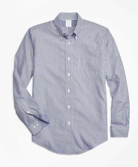 Non-Iron Milano Fit Bengal Stripe Sport Shirt