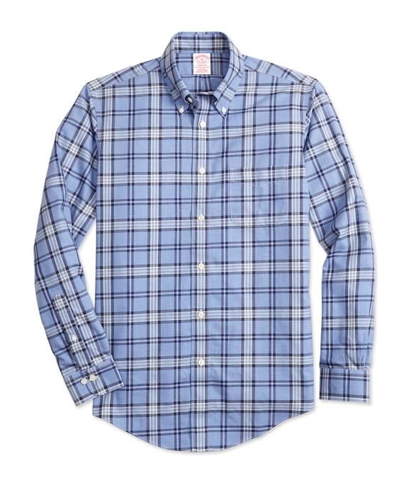 Non-Iron Madison Fit Brooks Brothers Signature Tartan Sport Shirt