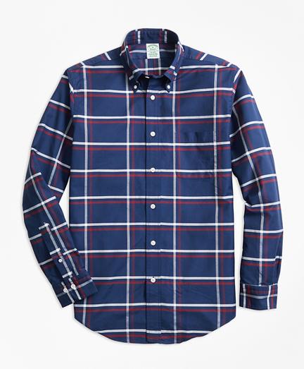Milano Fit Oxford Check Sport Shirt
